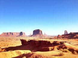 Scenery shots in Monument Valley, World Traveler - October 2012