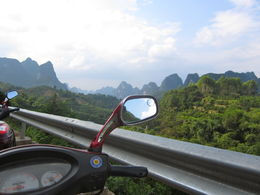 A great experience and different viewpoint of Yangshuo's beautiful karst sceneries - January 2013