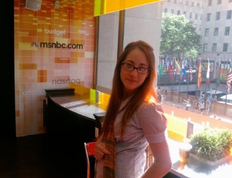 MSNBC Cafe at NBC Studio - New York - New York City