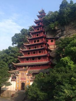 One of the beautiful pagodas seen on the trip! , Emel S - August 2015