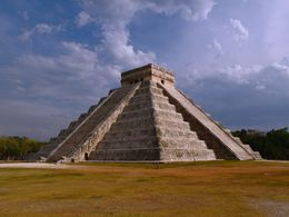 The main attraction - the Pyramid of Kukulkan in Chichen Itza. , Kevin F - May 2013