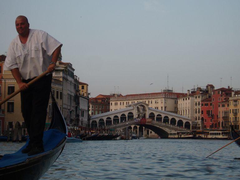 Rialto Bridge from The Grand Canal in Venice - Venice