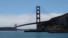 Outside of Muir Woods, the best part was when our bus stopped for some mostly non-fog pics of the bridge!!! Great vantage point. , tmjaniszewski - August 2016