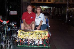 I picked a well built trishaw peddler., Marlene D - March 2008