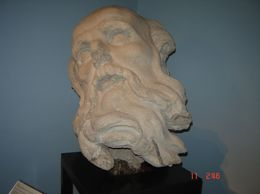 In the museum you will find many sculptures in the ancient style, Olivia Z - May 2009