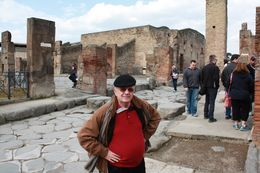 Viator group on Pompei trip , Dan S - March 2014