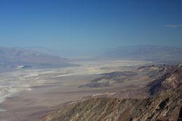 Amazing views from Dante's Peak onto the salt flats in Death Valley., Christine O - April 2008