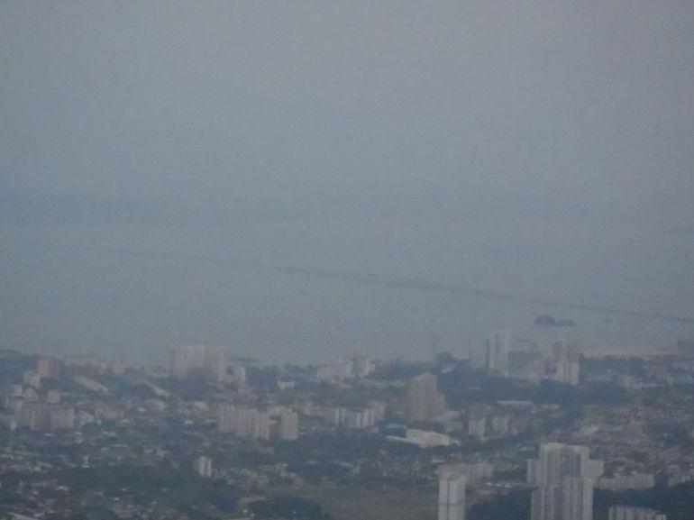 View from David Brown Restuarant - Penang