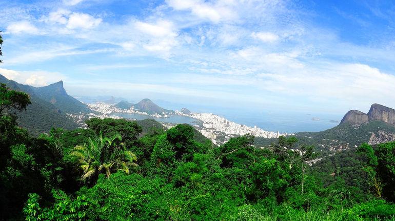 Vista Chinesa view point - Rio de Janeiro