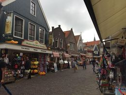 Some of the shops in Volendam , Edana - August 2016