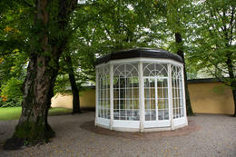 Another pic of the famous gazebo where I am 16... was staged partially , Terry J - October 2017