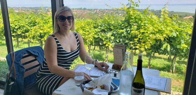Wine tasting at Lake Balaton with private transport