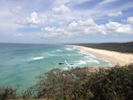 Taken from Point lookout down the 30km long beach , Josh L - March 2013