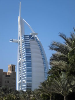 Seven star hotel, Dubai , Kerry B - October 2012