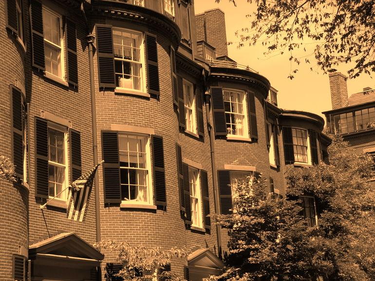 Beacon Hill houses - Boston