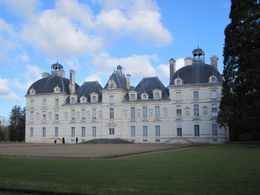 Walking up to the chateau , Lauren D - February 2012