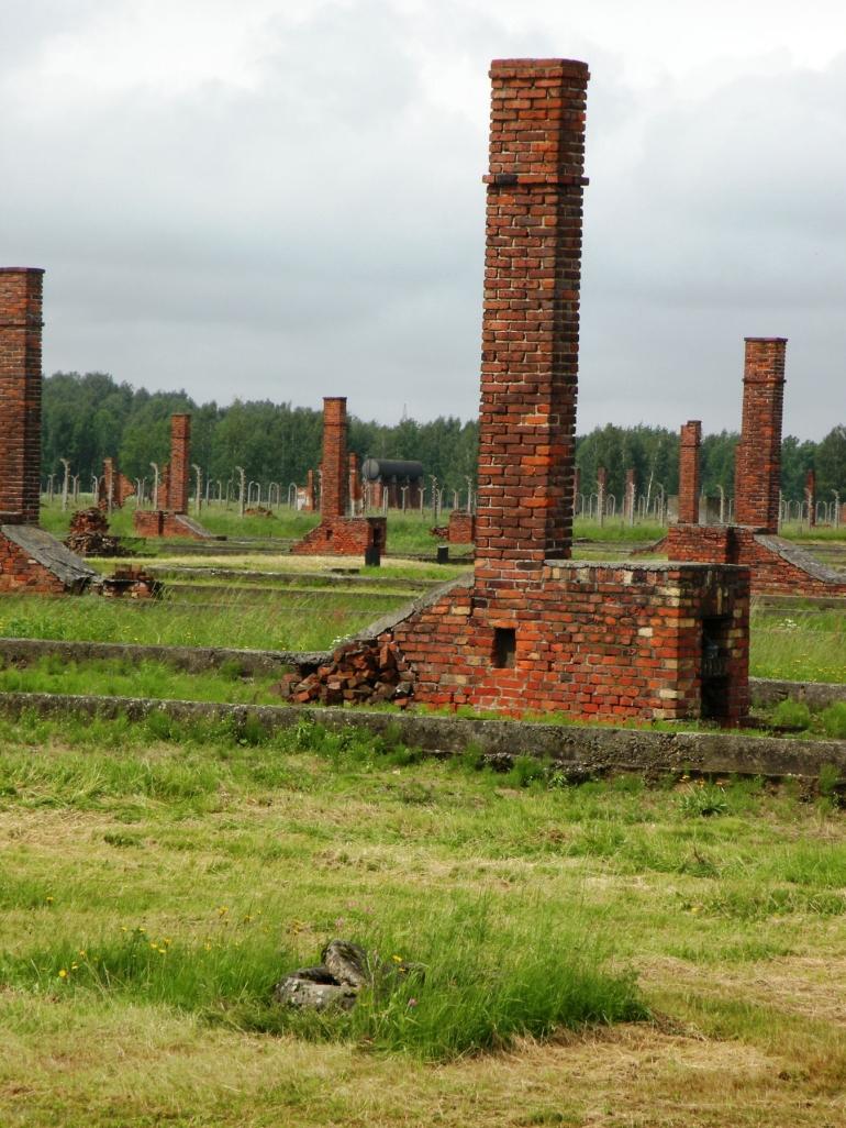 Chimneys - Auschwitz-Birkenau Museum - Krakow