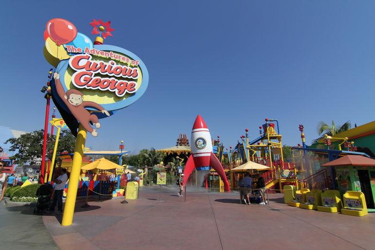 Curious George Playground - Los Angeles
