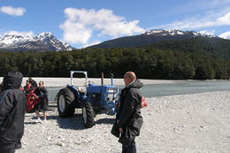 Waiting for the jet boat to leave., Tighthead Prop - March 2014