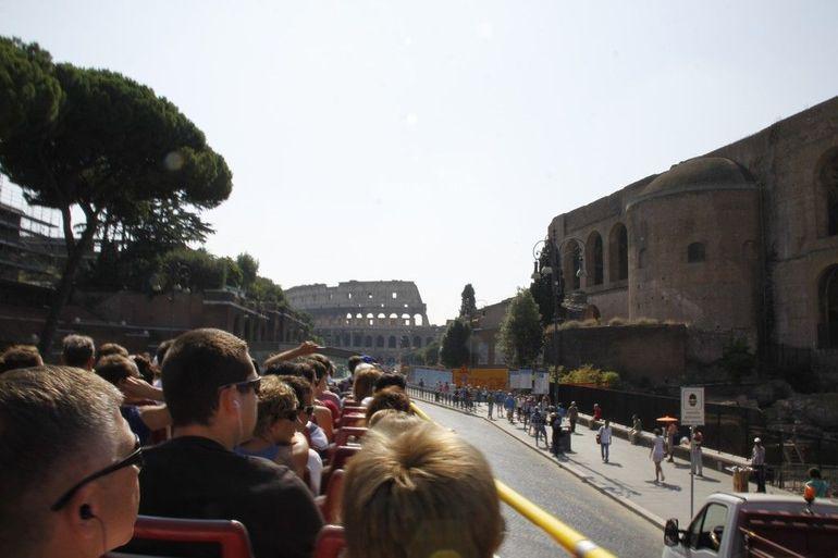 En af vores busture i Roma - Rome