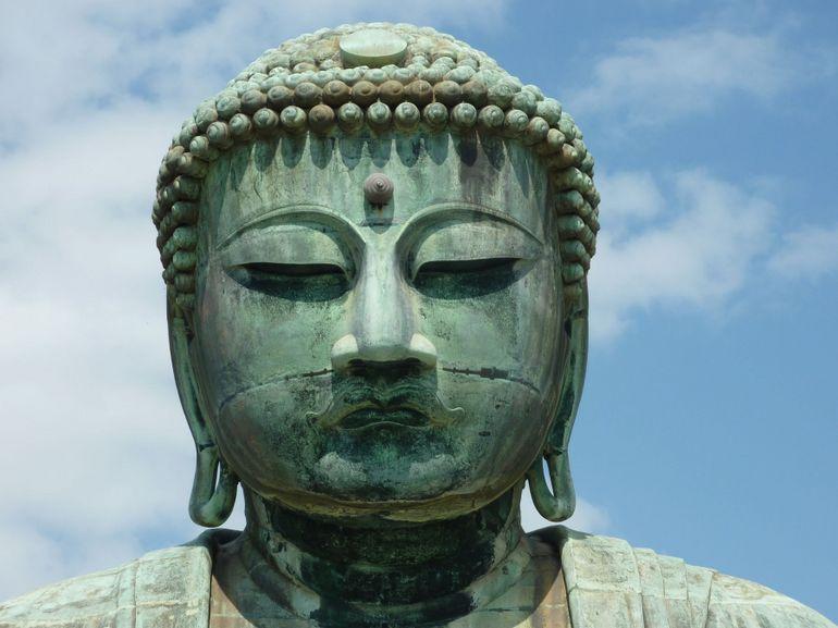 Great Buddha at Kotokuin Temple - Tokyo
