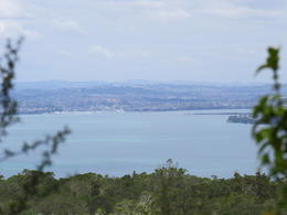 View from Rangitoto back across to Mission Bay , Adrian S - October 2014