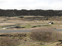 The site of the first parliment and also the low lying area they call and quot;no man's land and quot; that is between the America and EuroAsia tectonic plates that are actually pulling apart. , Charles S. S - June 2011
