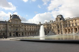 The Louvre courtyard , Teri S - July 2011