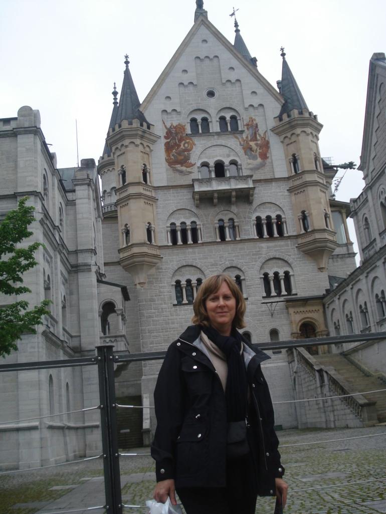 In front of Neuschwantstein Castle - Munich