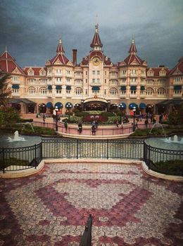 Magical land #Disney #paris , Amna A - October 2013