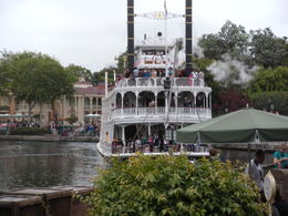 Beautiful boat cruising the Disney lake!, LUCY K - June 2011