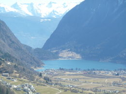 The Alps and lake , mazza - April 2012