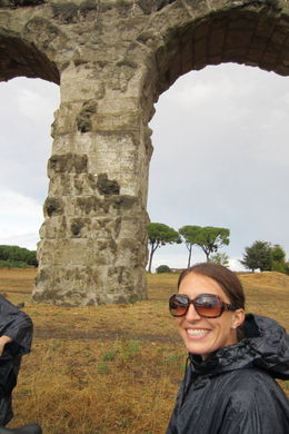 At the aqueducts - July 2014