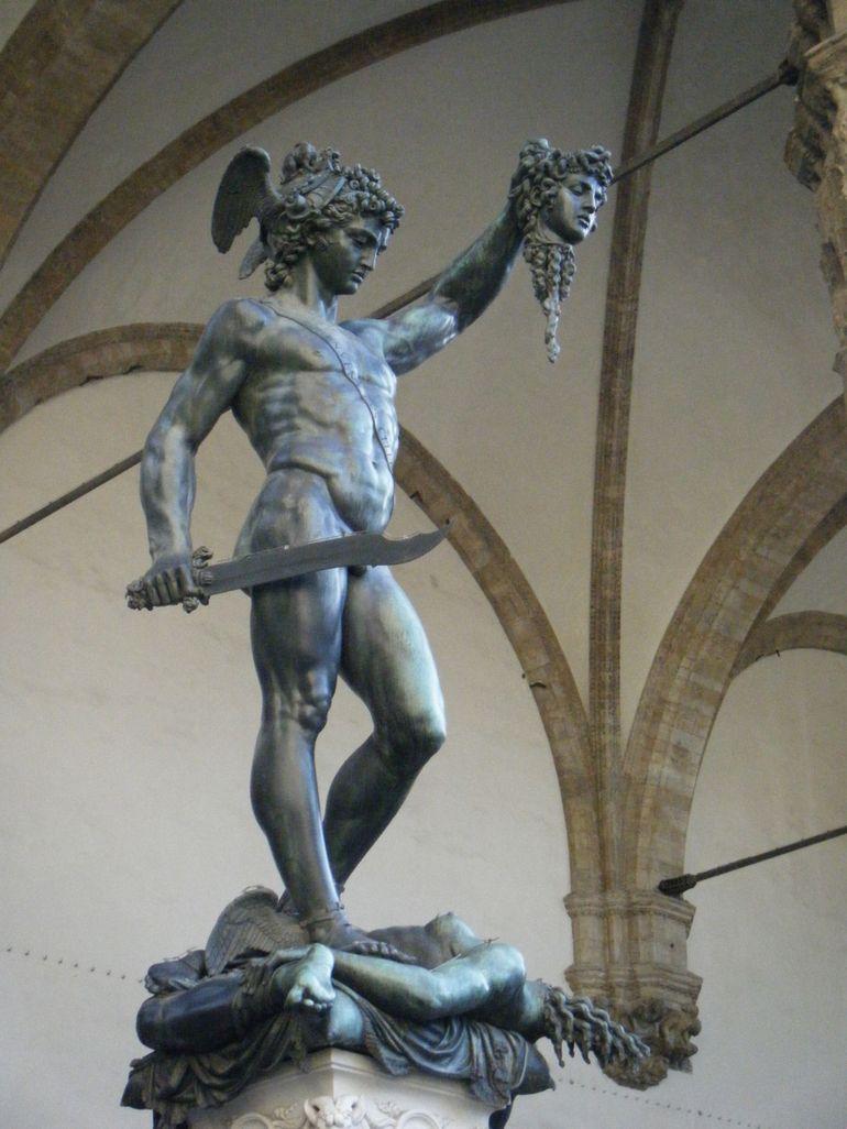 Perseus, by Benvenuto Cellini - Florence