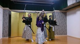 Samurai Kembu performers in Kyoto. , Jason C - May 2015