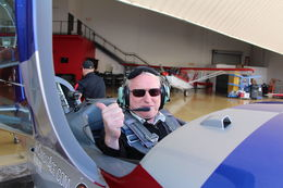 Me in the cockpit ! , Tony S - October 2015