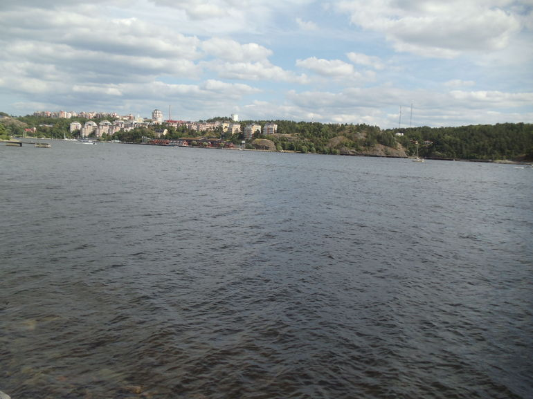 River view while biking - Stockholm