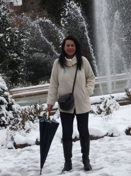 Me in Siena, what a wonderful day , puchi - February 2015
