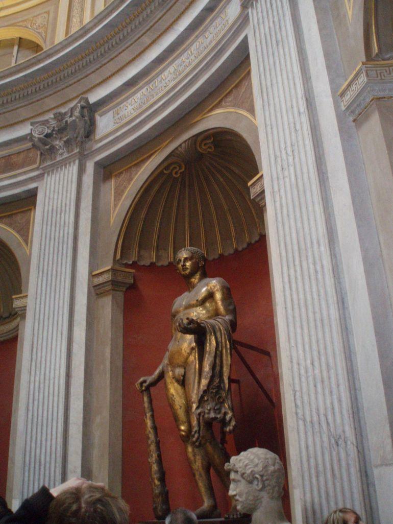 Statue in museum - Rome