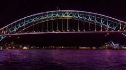 Sydney Harbour Bridge with Opera House in background , David C - June 2014