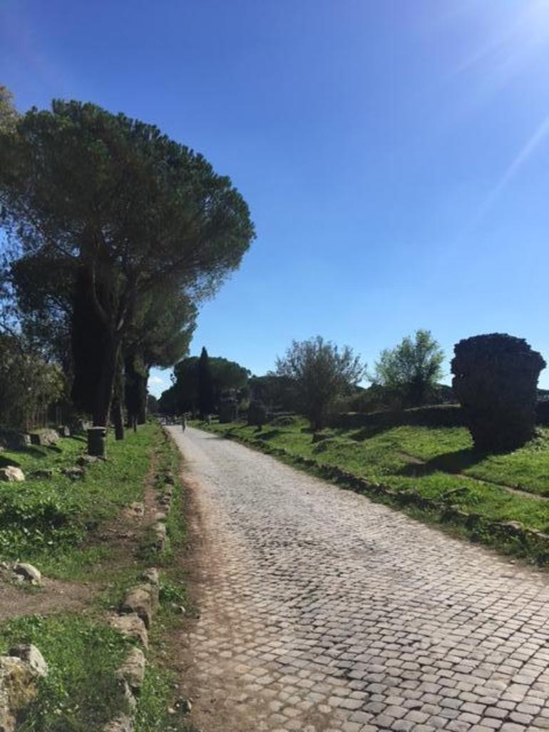 Ancient Appian Way, Catacombs and Roman Aqueducts Electric-Assist Bicycle Tour photo 18