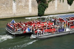 The bateau near Notre Dame 2., Dan P - August 2009