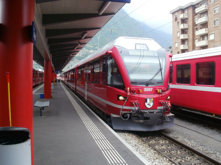 Tirano Station - Milan