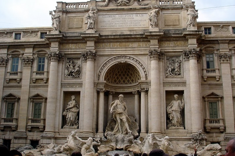 Trevi Fountain -