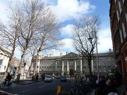 Trinity College, Dublin , Hanna - April 2015