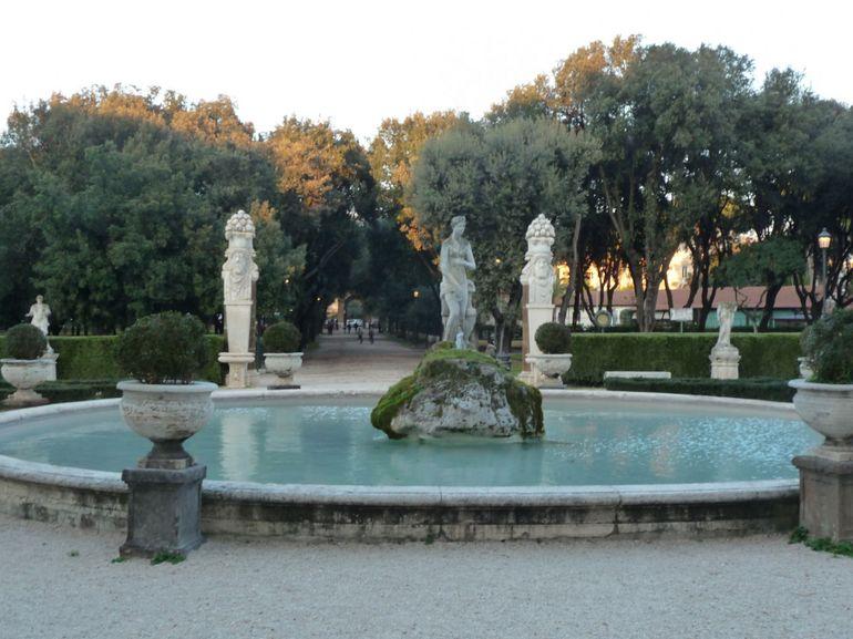 Villa Borghese Gardens - Rome