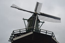 Up Close ... you'll get to enter the windmill and see it's mechanics and walk on the upper ledge shown , bhclarke - June 2015