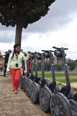 With Segways , Nikhil G - April 2013