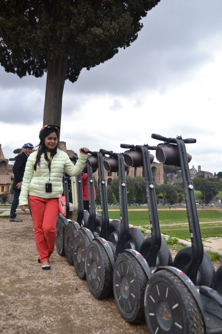 With Segways - Rome
