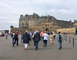 walking up to the castle.... , Cecelia K - July 2017
